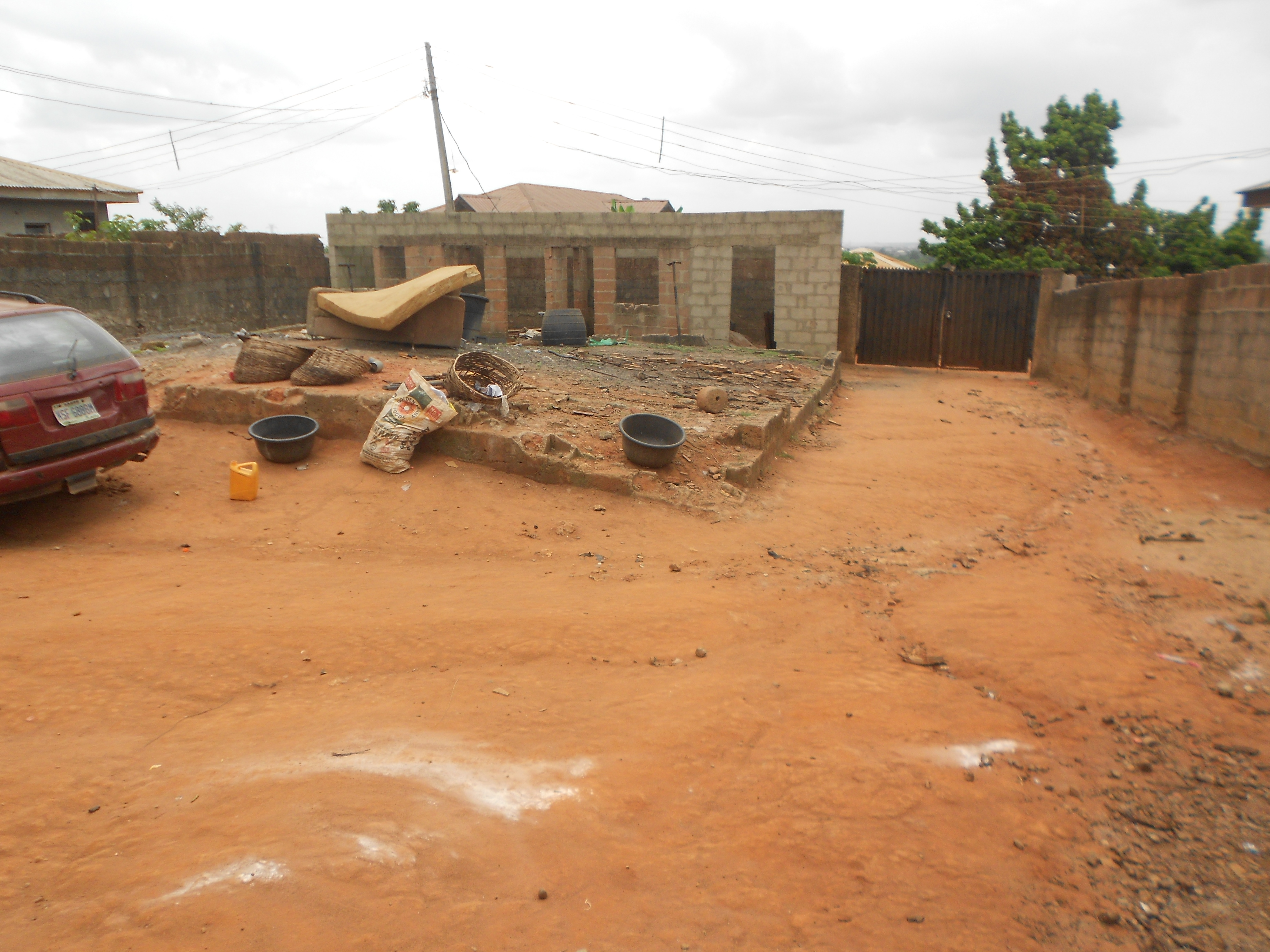 a full plot of land for sale in akute